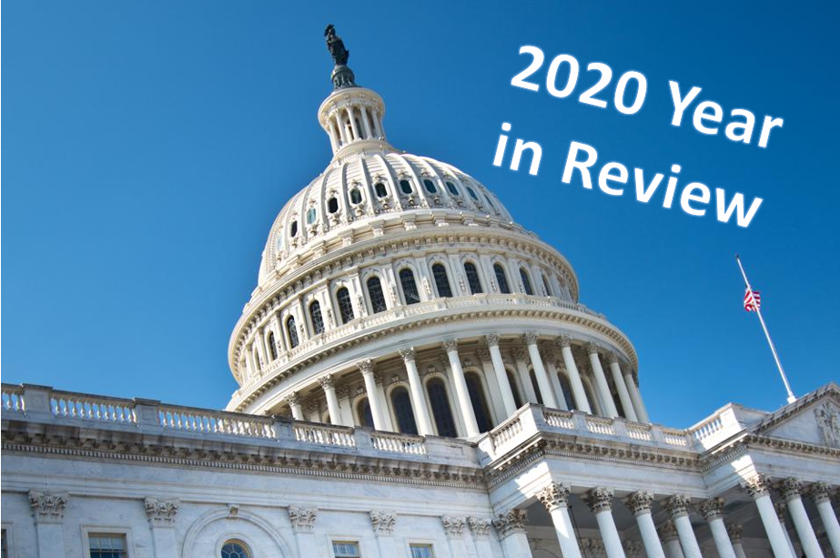 2020 — A Year in Review